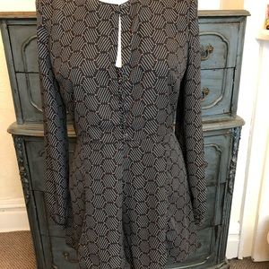 Anthropologie Harlyn Honeycomb Romper - Small